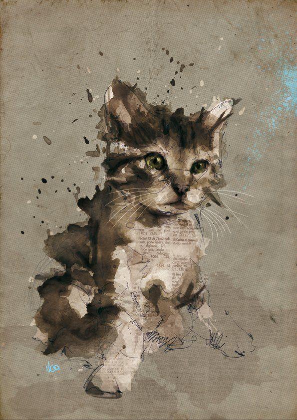 - Amazing Portrait Illustrations by Florian Nicolle <3 <3