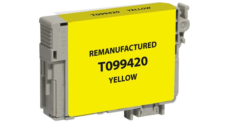 Buy T0994 (T099420) Yellow Ink Cartridge for Epson at Houseofinks.com. We offer to save 30-70% on ink and toner cartridges. 100% Satisfaction Guarantee.