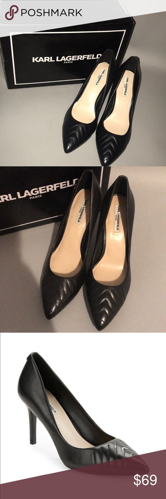 Brand new Karl Lagerfeld Paris new with box Brand new Karl Lagerfeld Paris new with box Karl Lagerfeld Shoes Heels