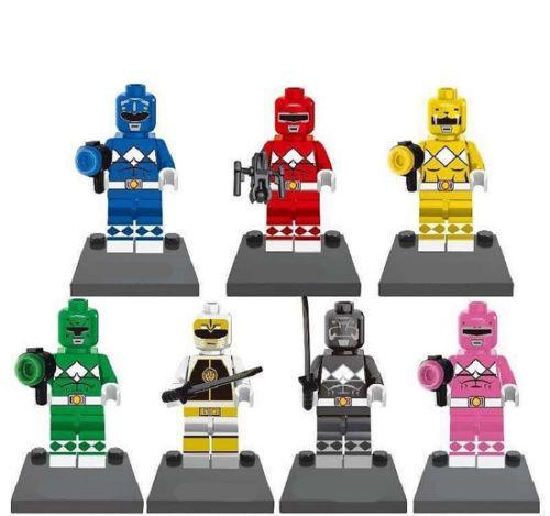 Saban-Entertainment-Power-Rangers-Movie-Mini-Custom-Figures-Fit-Lego