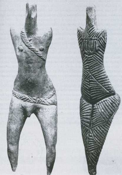 detail man/vrouw cucuteni