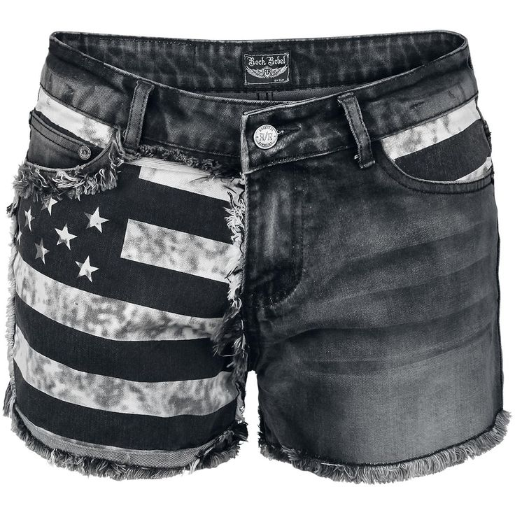 Flag Hot Pants par Rock Rebel by EMP