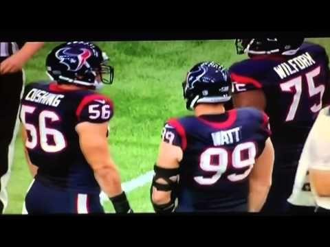 Inside the NFL: J.J. Watt Mic'd Up (Texans vs. Saints) - YouTube #houstontexans #texans #jjwatt
