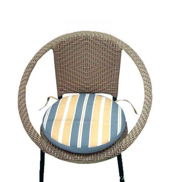 Stripe Round Seat Cushion Pads. round seat cushion, round seat cushion pads, stripe round seat cushion