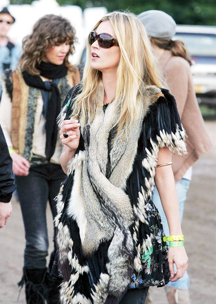The Kate Moss Guide to Music Festival Dressing via @WhoWhatWear