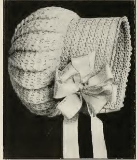 Crochet Baby Bonnet | Grandmother's Pattern Book