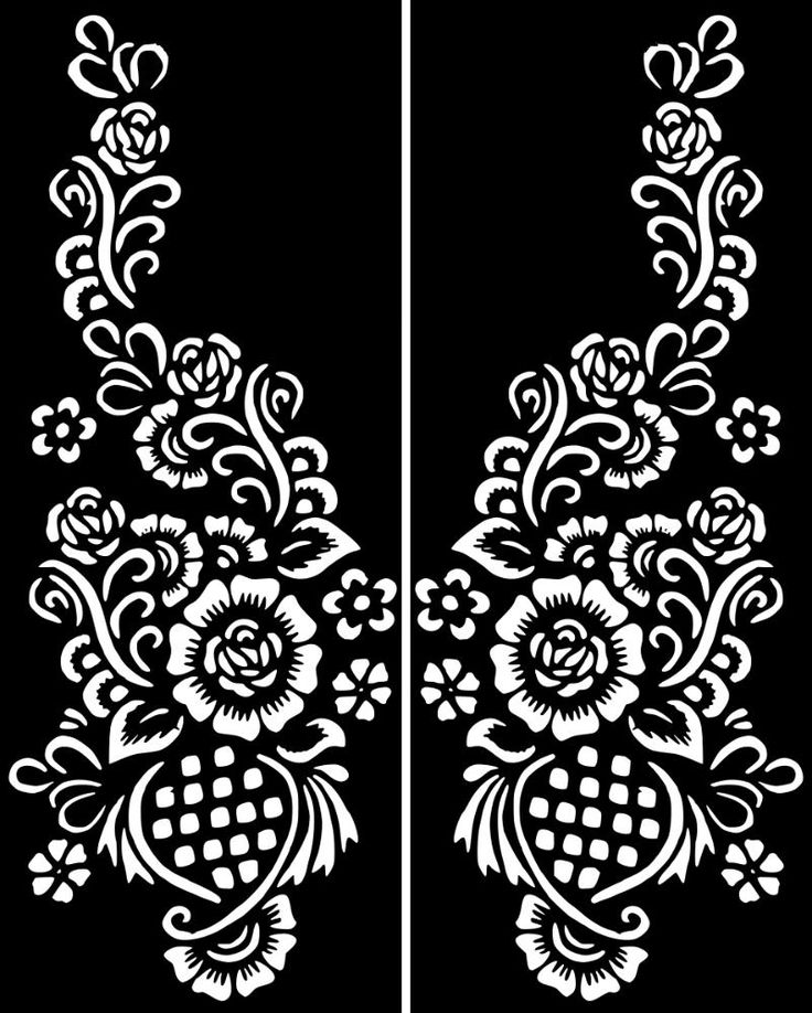 Henna Design Outline: Click On My User Name For More Henna Stencils:) HOW TO