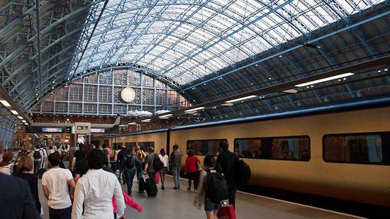 Mit dem Eurostar von Paris nach London