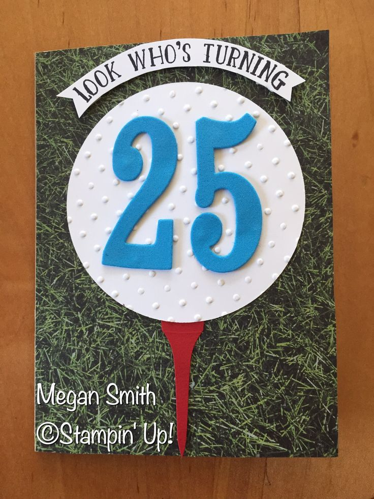 Golf birthday card                                                       …