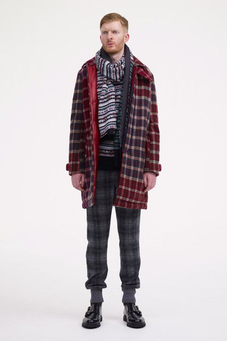 Sacai Fall 2013 Menswear Collection Slideshow on Style.com
