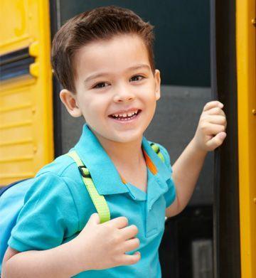 il primo giorno di scuola parto con lo zainetto