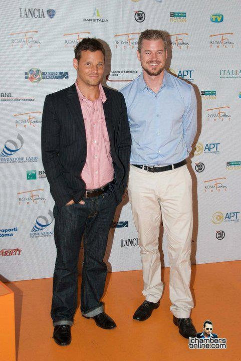 Justin Chambers and Eric Dane