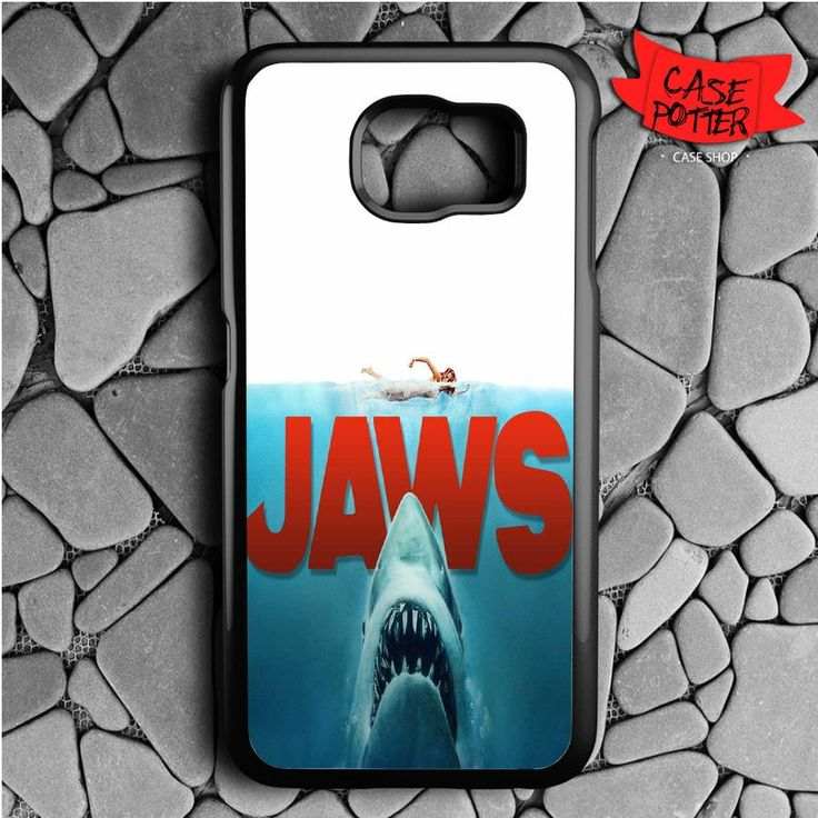 Shark Jaws Samsung Galaxy S6 Black Case