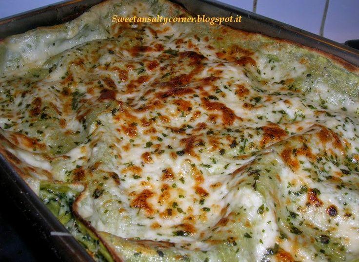 Lasagne verdi spinaci e carciofi
