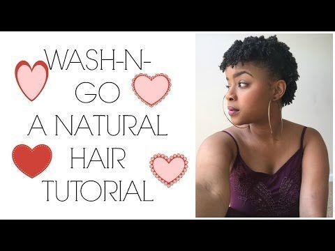 C Natural Hair Styles Videos
