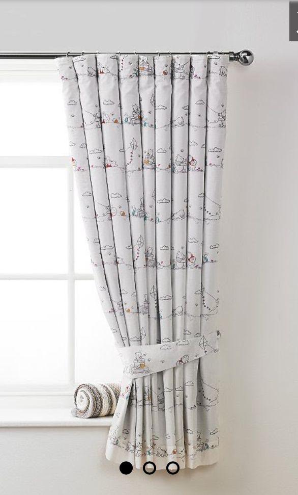 97ff9840c562 Winnie the Pooh nursery curtains