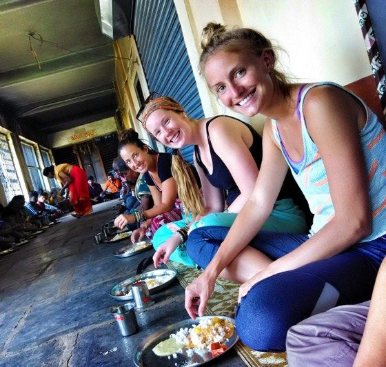 guide to south indian food eating with fingers in india