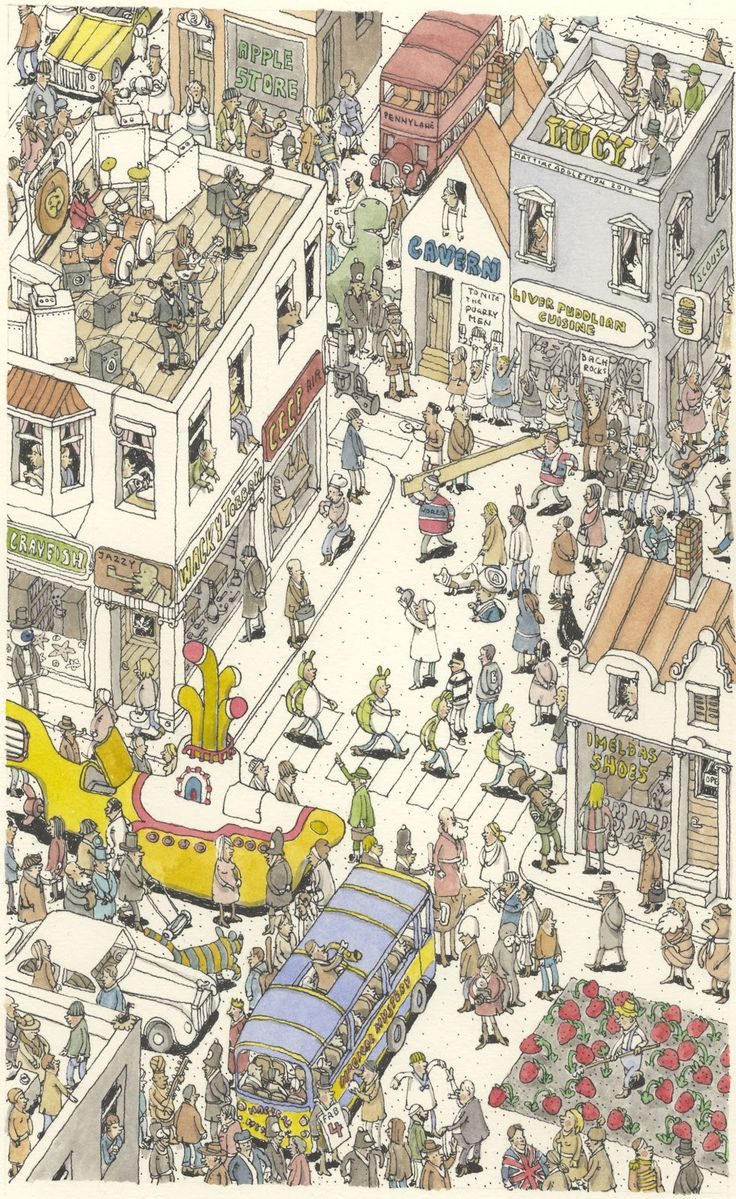 It's all about the beatles: The Beatles, 30 January, Mattia Adolfsson, Illustration, 50Th Anniversaries, Beatles Tribute, Mattia Ink, January 1969, Art Music