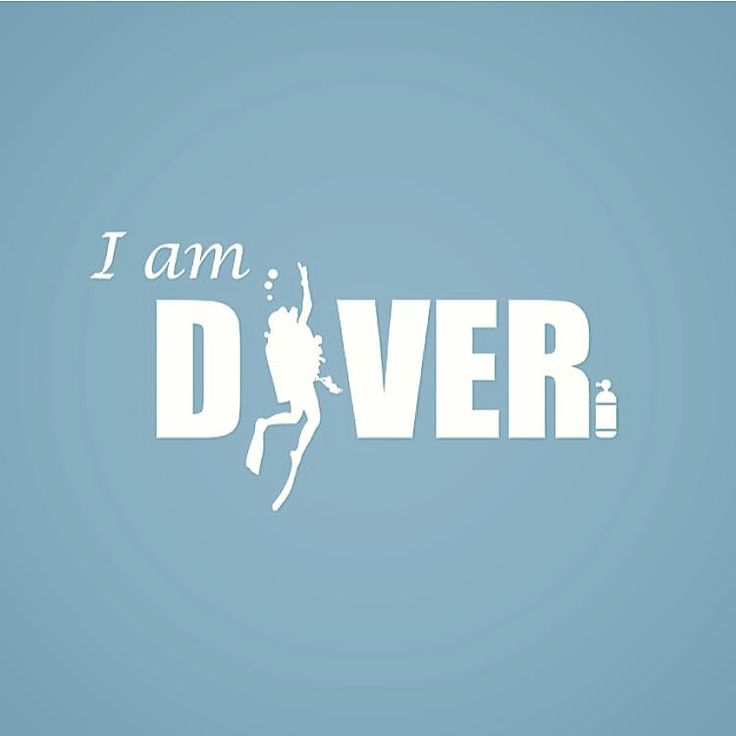 We Are Divers! And we are proud of it. Great Logo