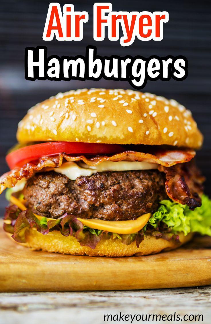 How To Make Air Fryer Frozen Hamburgers Recipe Air