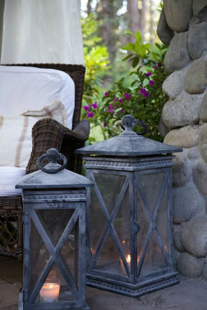 FRENCH COUNTRY COTTAGE: Outdoor Living~ 3 things for a Cottage Look