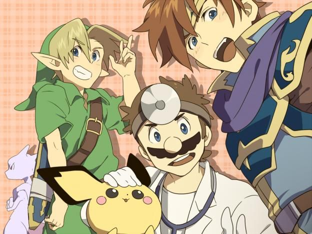 Mewto, Link, Pichu, Dr Mario, Roy: Super Smash Bros Melee. - Gone, but not forgotten. I MISS THESE GUYS :(