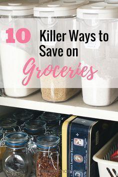 Dies sind 10 großartige Tipps, mit denen Sie Geld für Lebensmittel sparen können. Schauen Sie sich all diese …   – Kids and Parenting