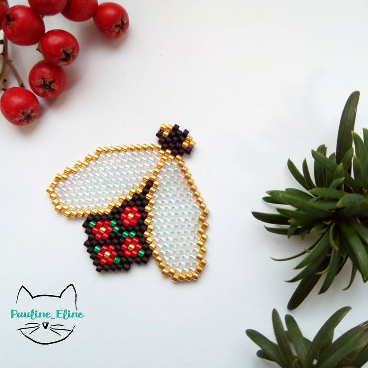 Insecte type broderie
