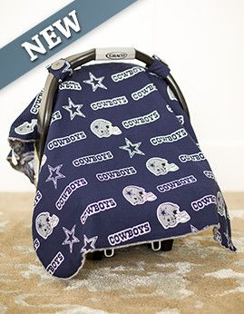 Free Dallas Cowboys Baby Car Seat Cover, Click The Picture, Enter Promo  Code