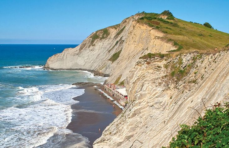 Wow With Zumaia Beach Its Flysch Rock Formations Are