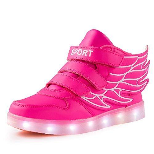 Oferta: 60€ Dto: -62%. Comprar Ofertas de AFFINEST Zapatos Kids SneakerS LED 7 Colores de Carga USB para Intermitente Zapatos con Luces de Los Niños y Niñas para la Ac barato. ¡Mira las ofertas!