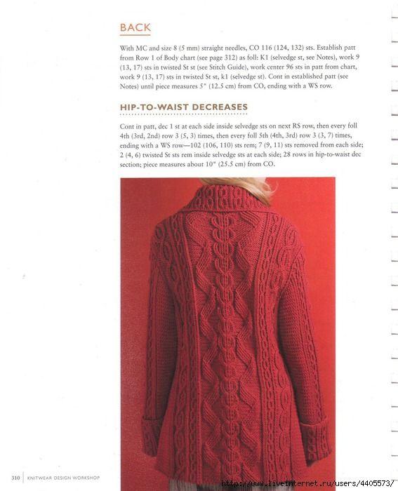 Knit: Red Jacket abbigliamento - maomao -