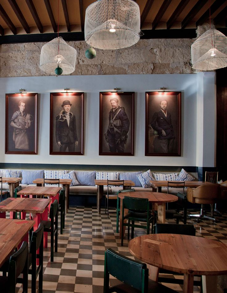 Located in Palma de Mallorca on Balearic Islands, Patrón Lunares is a new take of a traditional canteen named after a legendary local fisherman.