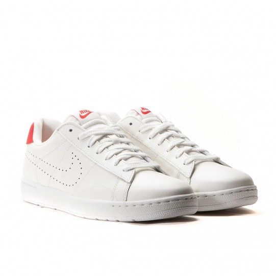 Nike Tennis Classic Ultra Leather (Ivory / Rot)