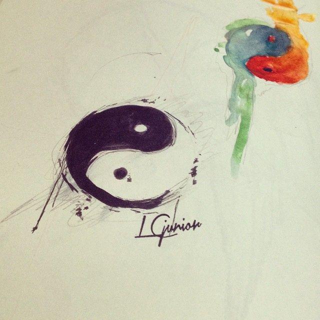 17 Best ideas about Tatuagem Yin Yang on Pinterest | Tatuagens de ...