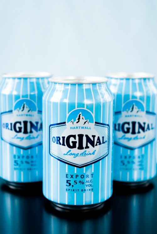 Finnish Gin Long Drink--canned gin beverages!