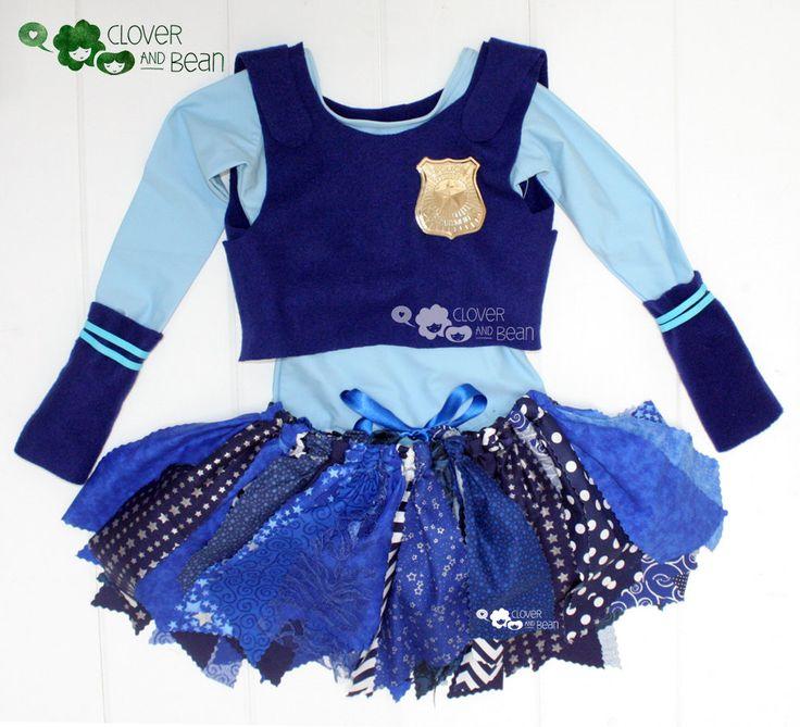 Judy Hopps Costume - Disney's Judy Hopps - Zootopia - Judy Hopps Tutu - Judy Hopps Halloween Costume by…