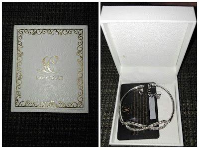 Nimrodel AT´s Foto, Bastel- und Produkttestblog: Lady Colour - Armband-Unendlichkeit mit Kristallen...
