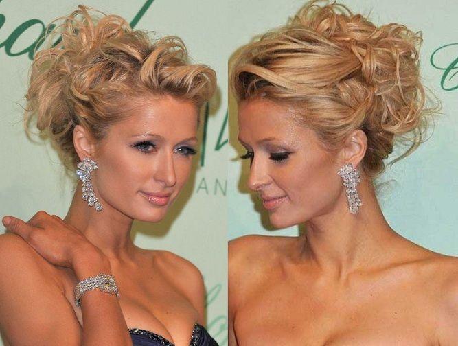 2017 farklı saç topuz modelleri - Paris Hilton