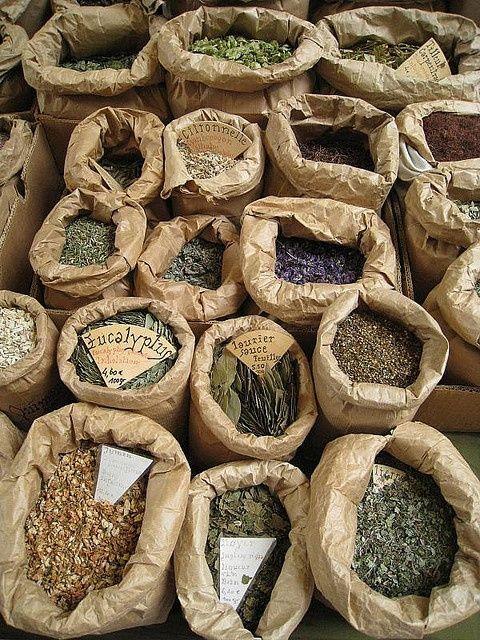 herbs at mkt