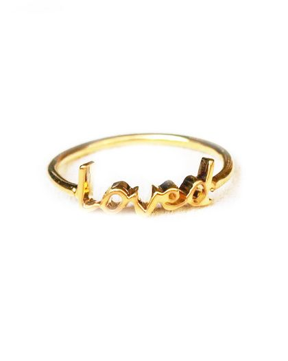 loved ring this is precious a neat promise ring or