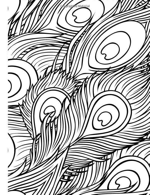 Amazon Completely Calming Colouring Book 1 PEACE Books