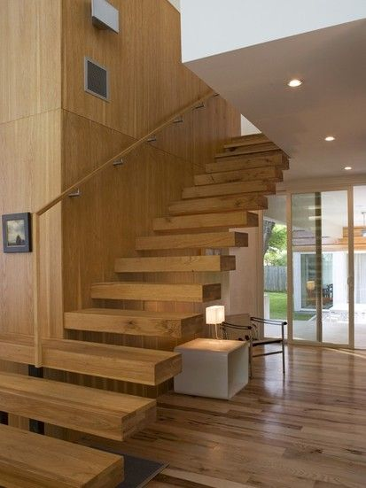 Fairfield House, Modern Staircase, Austin
