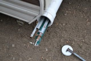 Adding PVC Storage tube to back of camper