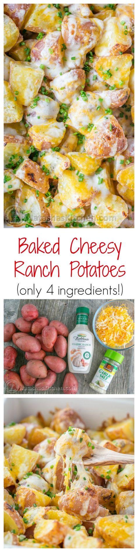 Fondan Patates (Tavada Tereyağlı Patates)