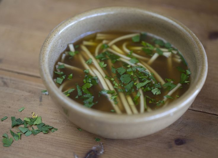 Udon Noodles with Beef Stock  - Maggie Beer