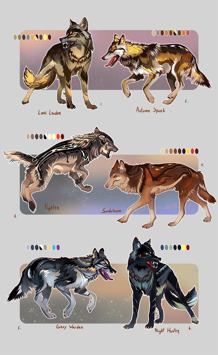 Cool Wolfpack (open!) by Furrirama.deviantart.com on @DeviantArt