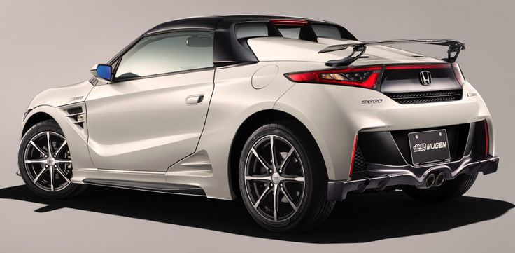 Honda S660 Mugen, 2016. A modified version of Honda's mid-engined Kei car