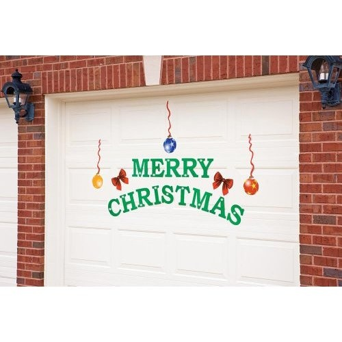 1000 images about garage door murals on pinterest for Christmas garage door mural