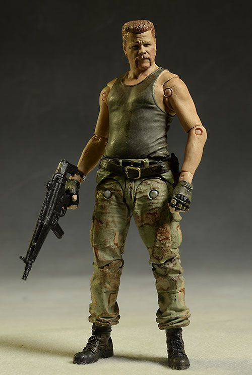 """Sgt. Abraham Ford (Michael Cudlitz) of The  Walking Dead 5"""" Action Figure by McFarlane Toys"""